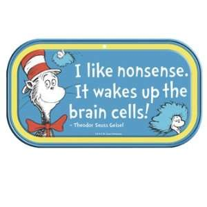 Dr Suess Cat in the Hat Mini Magnetic Tin Sign *SALE