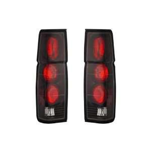 86 97 Nissan Hardbody Black Tail Lights: Automotive