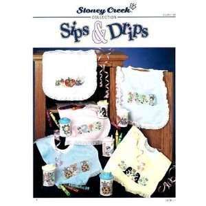 Sips & Drips   Cross Stitch Pattern: Arts, Crafts & Sewing