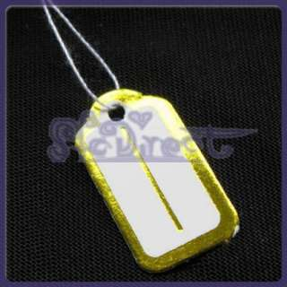 500 PRICE TAGS FOR 10K 14K GOLD SILVER FASHION JEWELRY