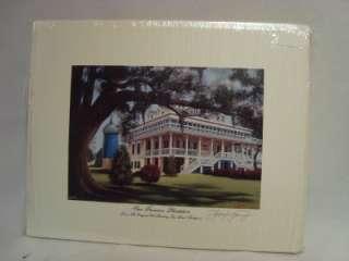 Thompson Signed/Autographed Small Print  San Francisco Plantation NIP
