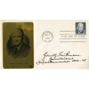 Helmuth Beukemann German Generalleutnant of WWII Autographed Cover