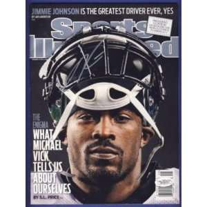 Michael Vick Eagles Signed Sports Illustrated JSA W   Autographed NFL