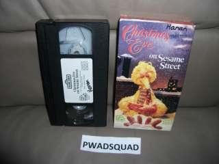 Sesame Street   Christmas Eve on Sesame Street (VHS, 1997