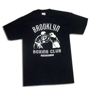 BOXING New York City Club Vintage Black SS T SHIRT Mike Tyson NYC