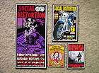 SOCIAL DISTORTION Mike Ness Punk Rock Concert Posters SET