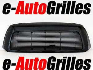 07 11 Toyota Tundra Black 8mm Hori. Billet Grille+Shell