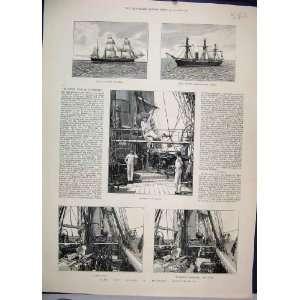 1887 Modern Man War Ship Athletics Guns Calypso Active