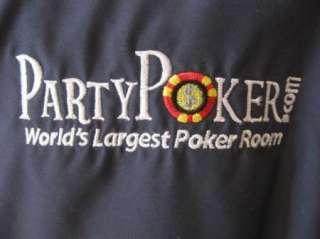 Mens Dunbrooke PARTY POKER  Sewn Logo GRAY Classic Zippered Jacket