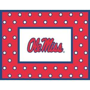 Palm Tree Paperie Ole Miss Rebels Polka Dot Note Cards, Boxed Set of