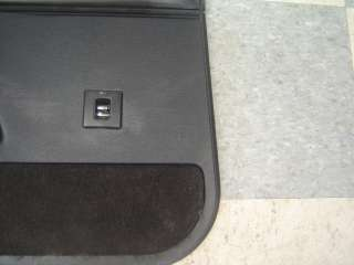 94 96 Chevrolet Impala SS OEM LH Rear Door Trim Panel Black