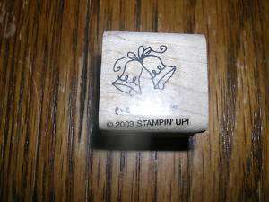 RUBBER STAMP.STAMPIN UP.WEDDING BELLS