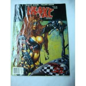 Heavy Metal Magazine March 1998 Books