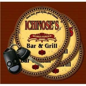 ICHINOSES Family Name Bar & Grill Coasters: Kitchen