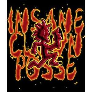 Insane Clown Posse ICP Hatchet Man Fleece Throw Blanket