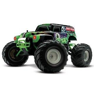 Traxxas RTR 1/10 Monster Jam Grave Digger with 7 Cell