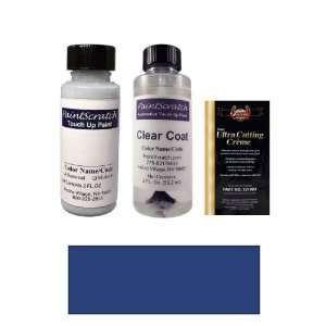 2 Oz. Innocent Blue Pearl Metallic Paint Bottle Kit for