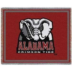 University of Alabama Crimson Tide Mascot Throw 48 x 69