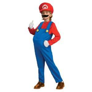 Deluxe Super Mario Childrens Costume Toys & Games