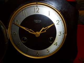 SMITHS ENFIELD BAKELITE Antique Mantel Shelf Clock