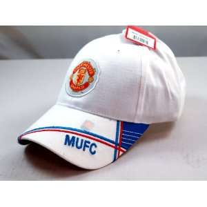 FC MANCHESTER UNITED OFFICIAL TEAM LOGO CAP / HAT   MU022