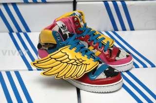 ADIDAS X JEREMY SCOTT JS Wings 2NE1 Shoes V20692 4.5y