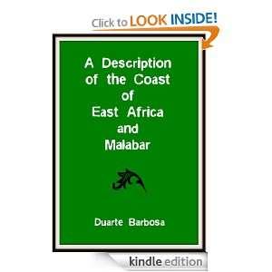 Description of the Coast of East Africa and Malabar: Duarte Barbosa