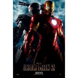 Iron Man 2 War Machine Comic Book Movie Poster 24 x 36