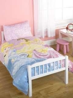 DISNEY PRINCESS CHANDELIER JUNIOR COT BED DUVET SET BN 5055285308384