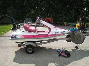 1991 Kawasaki JS650A1 Jet Ski SC (Sport Cruiser) Side by Side (Barbie