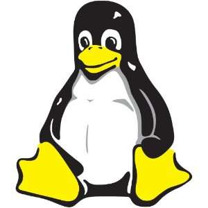 Linux Penguin Sticker: Sports & Outdoors