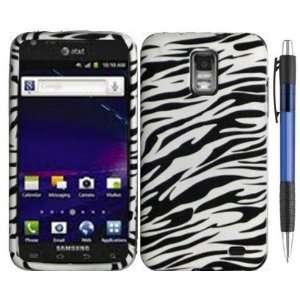Black White Zebra Design Protector TPU Cover Case for