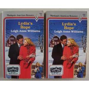 Lot of 2 [ same title ] Leigh Anne Williams Harlequin