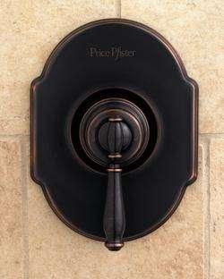 Single Handle Tub/Shower Faucet, Tuscan Bronze: Home Improvement