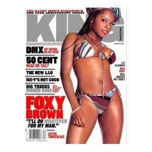 King Magazine, Winter 2003 Issue (Fox Brown Cover) (Single