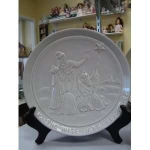 FRANKOMA 1982 CHRISTMAS PLATE THE WISE MEN REJOICE Everything Else