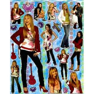 Hannah Montana 2 MILEY CYRUS Sticker Sheet BL290