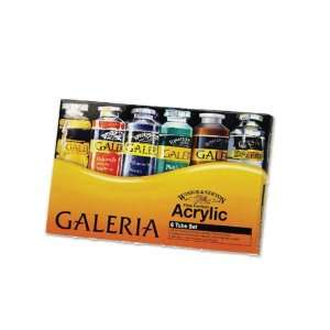 Winsor Newton Galeria Acrylic Colors   6 Tube Set Office