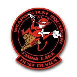 US Navy Weapons Test Squadron China Lake Decal Sticker 3.8