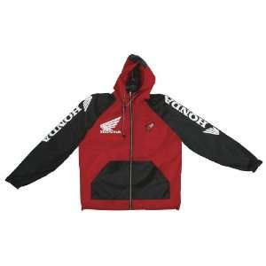 Joe Rocket Honda Crew Mens Jacket Red/Black Extra Large