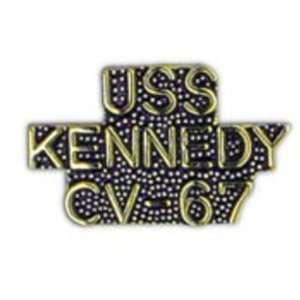 U.S. Navy USS Kennedy CV 67 Pin 1 Arts, Crafts & Sewing