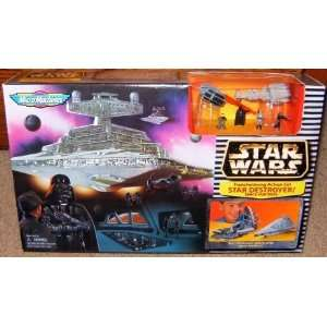 Star Wars Micro Machines Star Destroyer Transforming