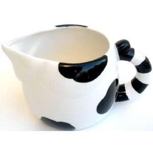 Black & White Kitty Cat Themed Creamer