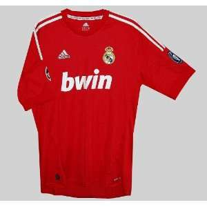 Real Madrid Champion League Soccer Jersey Red Sports