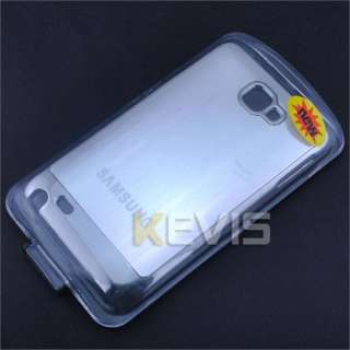 Luxury Hard Plastic & Metal Cover Case Samsung Galaxy Note GT N7000