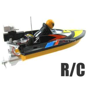 Radio Remote Control RC Micro RTR Racing Speed Boat