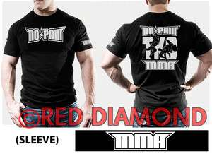 BLACK T SHIRT   UFC   TRAINING   GYM   CAGE FIGHT     MUAY THAI
