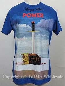 Authentic KANYE WEST Power Slim Fit T Shirt S M L XL 2XL NEW