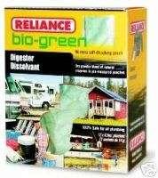 Box 24pk Reliance Bio Green Chemical Toilet Digester