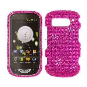 Hot Pink CRYSTAL RHINESTONE DIAMOND BLING COVER CASE 4 Pantech